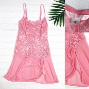 Victoria's Secret Lingerie Slip Embroidered Lace